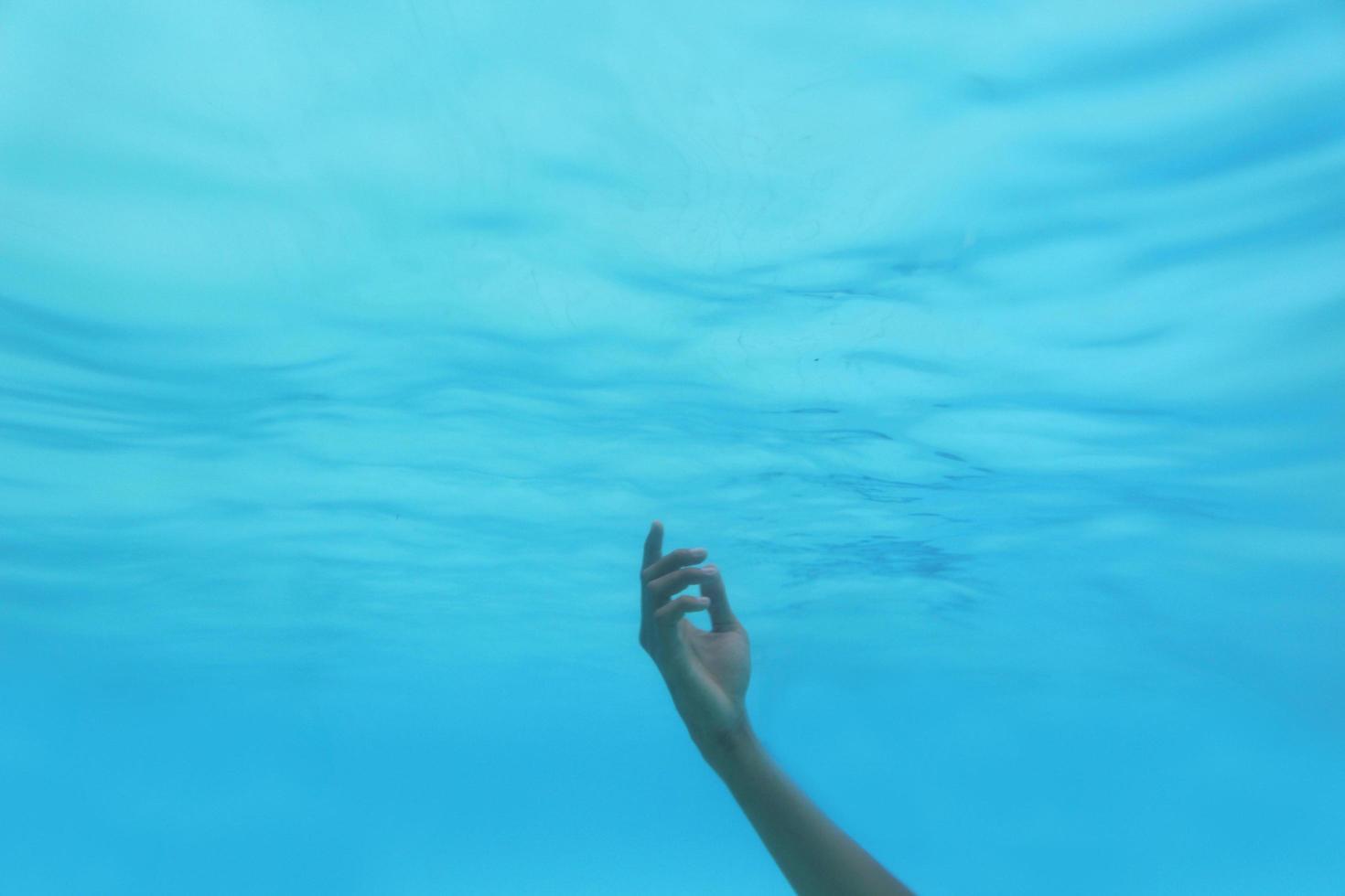 dans l'eau photo