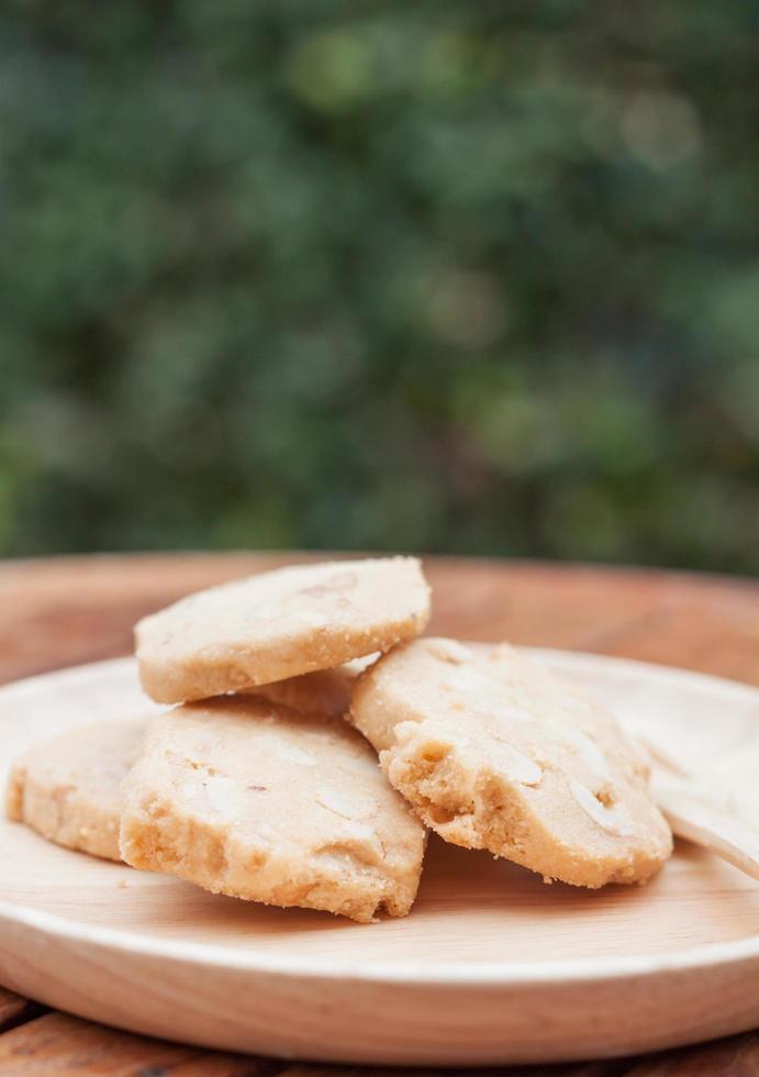 biscuits aux noix de cajou à l'extérieur photo