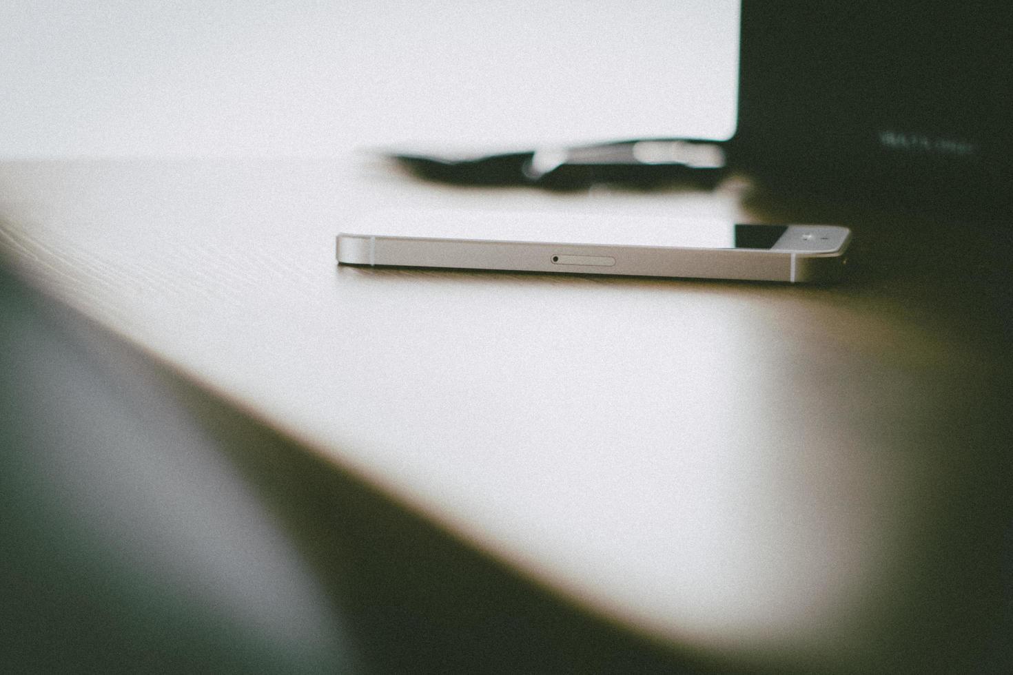 édition granuleuse de l'iphone 5 photo