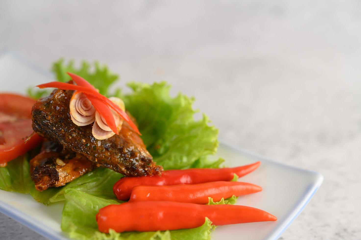 apéritifs aux sardines épicées photo