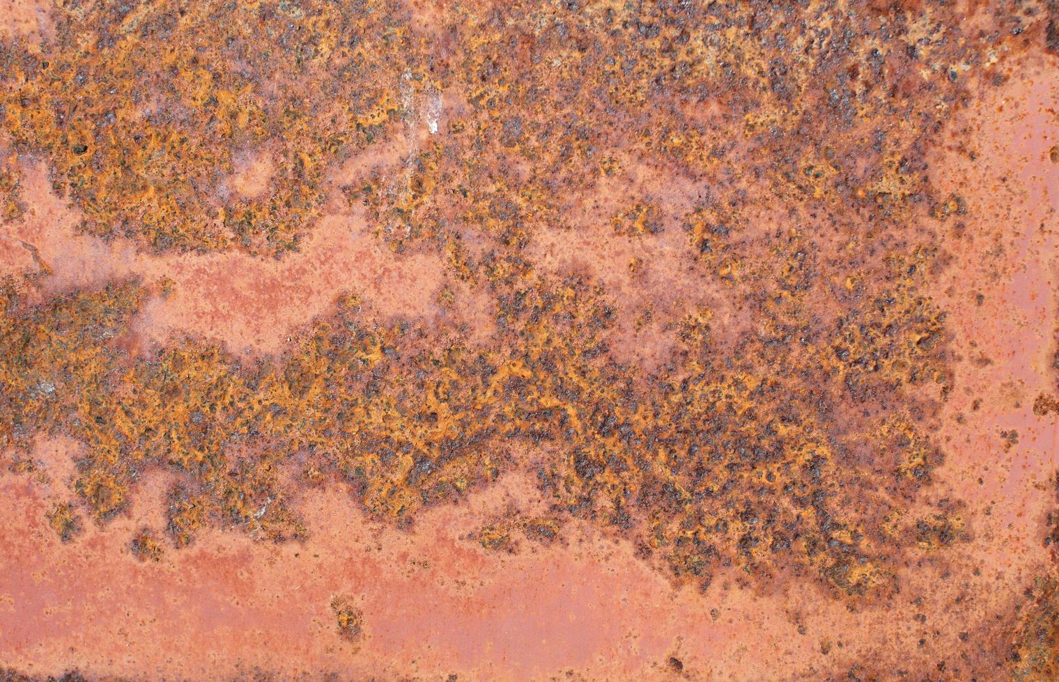 texture chaude en acier oxydé photo