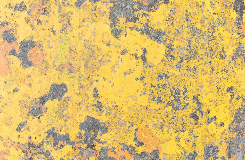 texture de mur grunge jaune photo