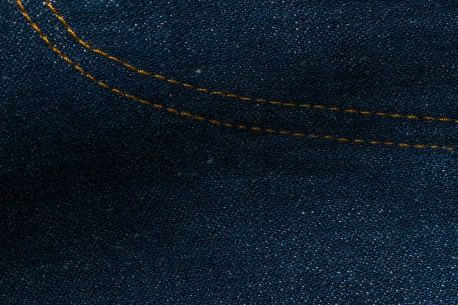 gros plan de tissu de jeans photo