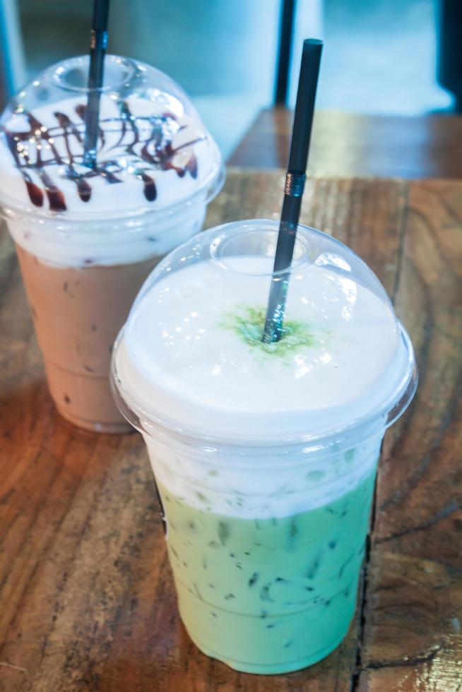 thé vert glacé photo