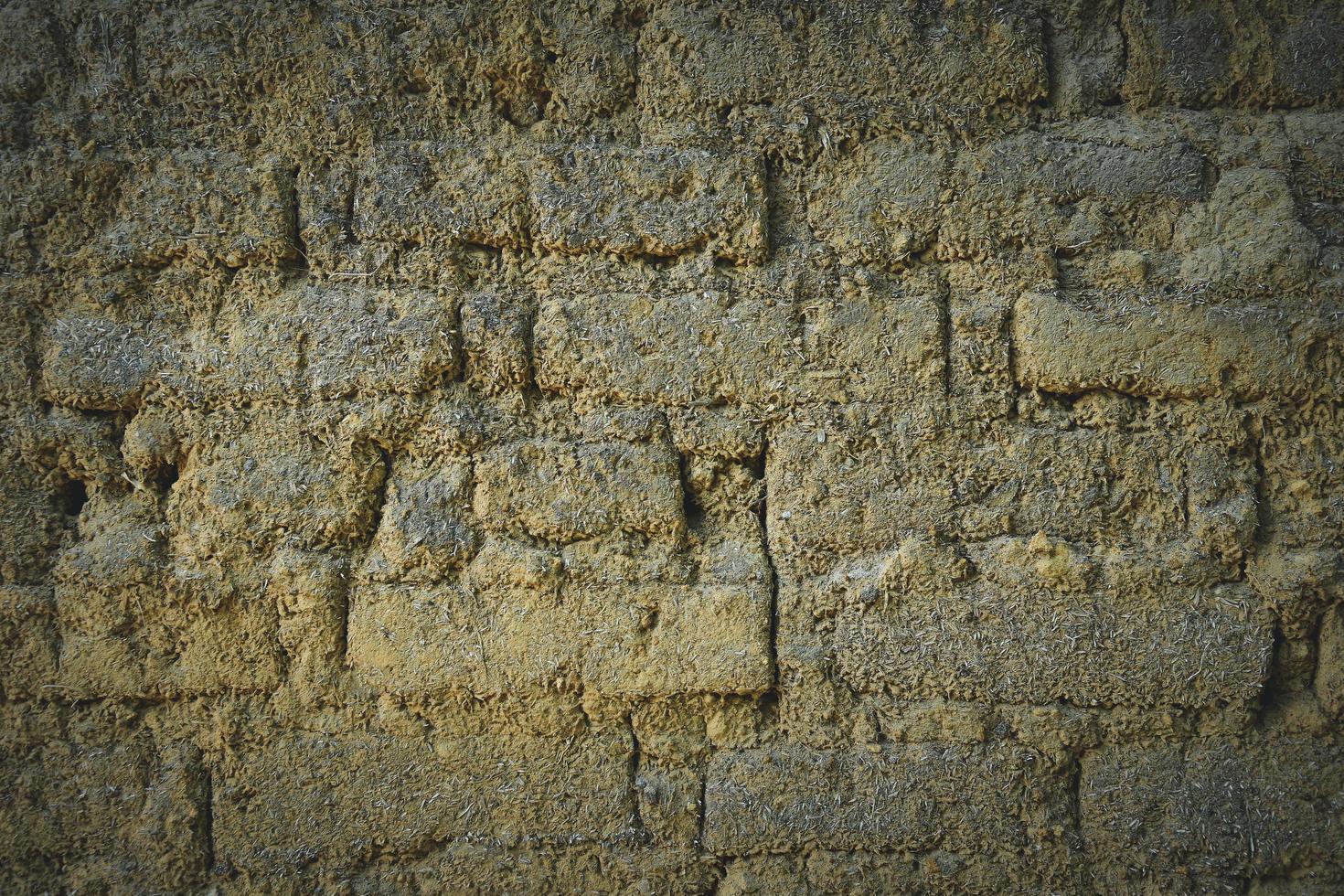 mur de briques rustique photo