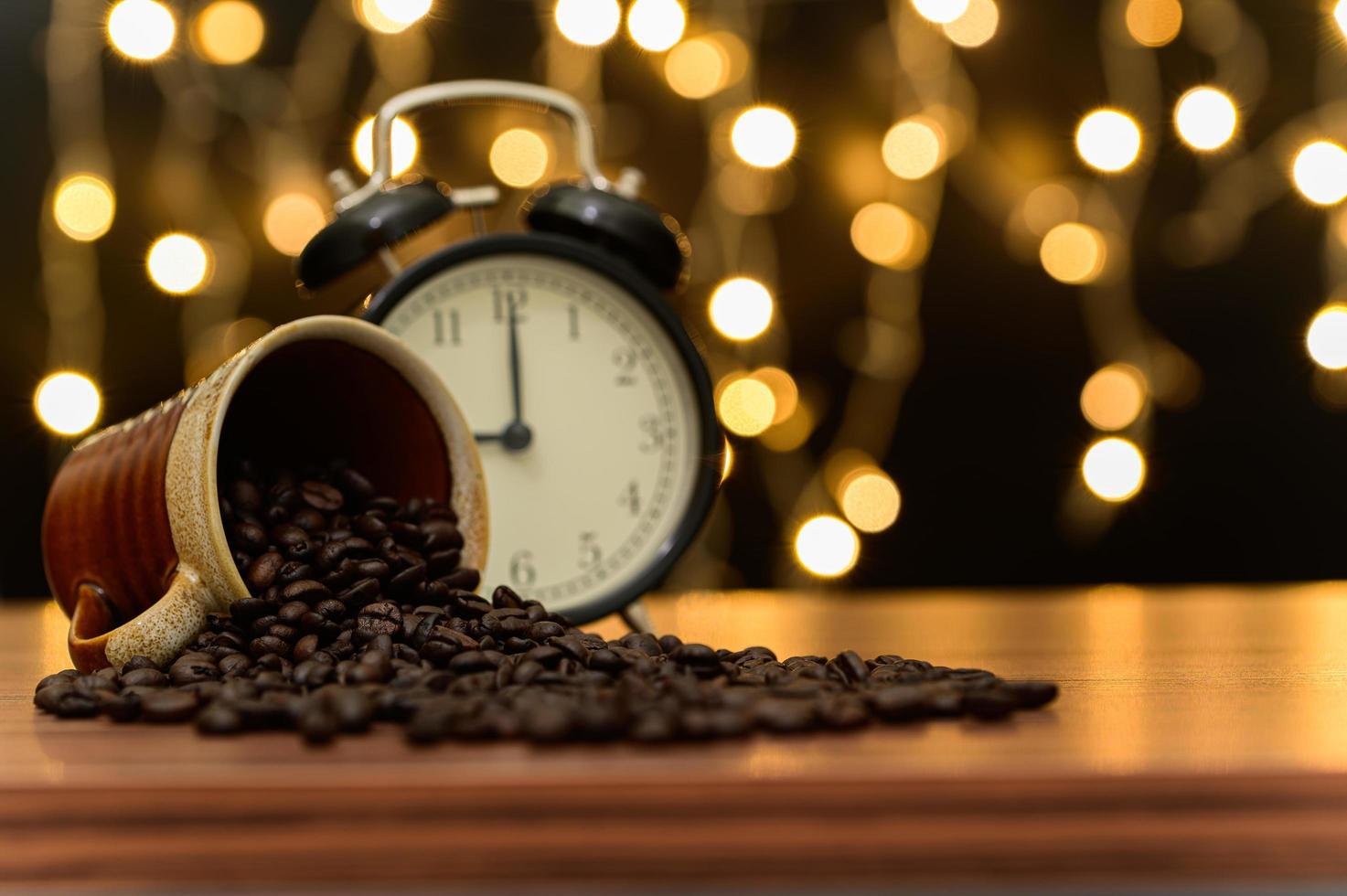 tasse à café sur le bureau photo