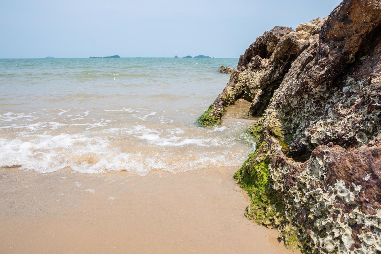 plage en thaïlande photo