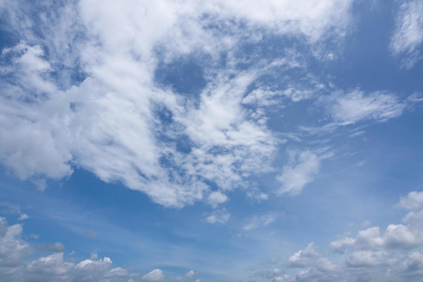 ciel bleu et nuages photo