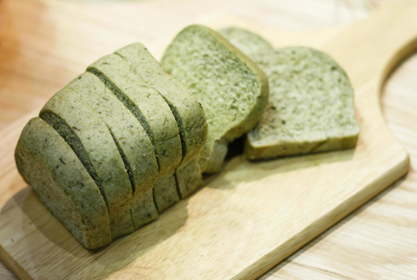 pain de thé vert photo