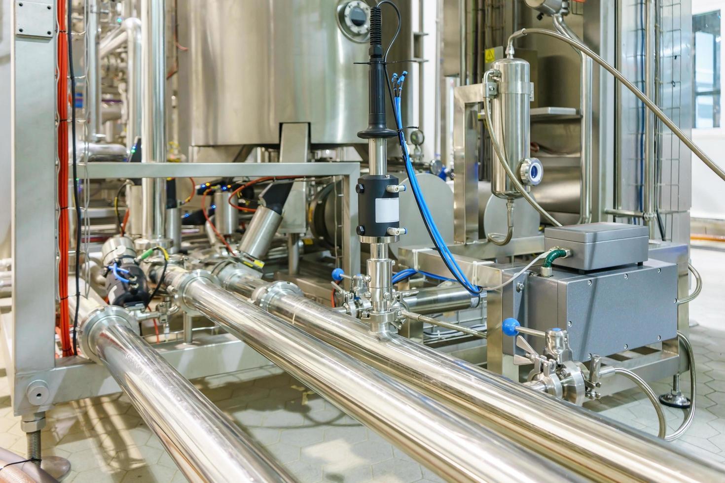 tubes d'équipement d'usine industrielle photo