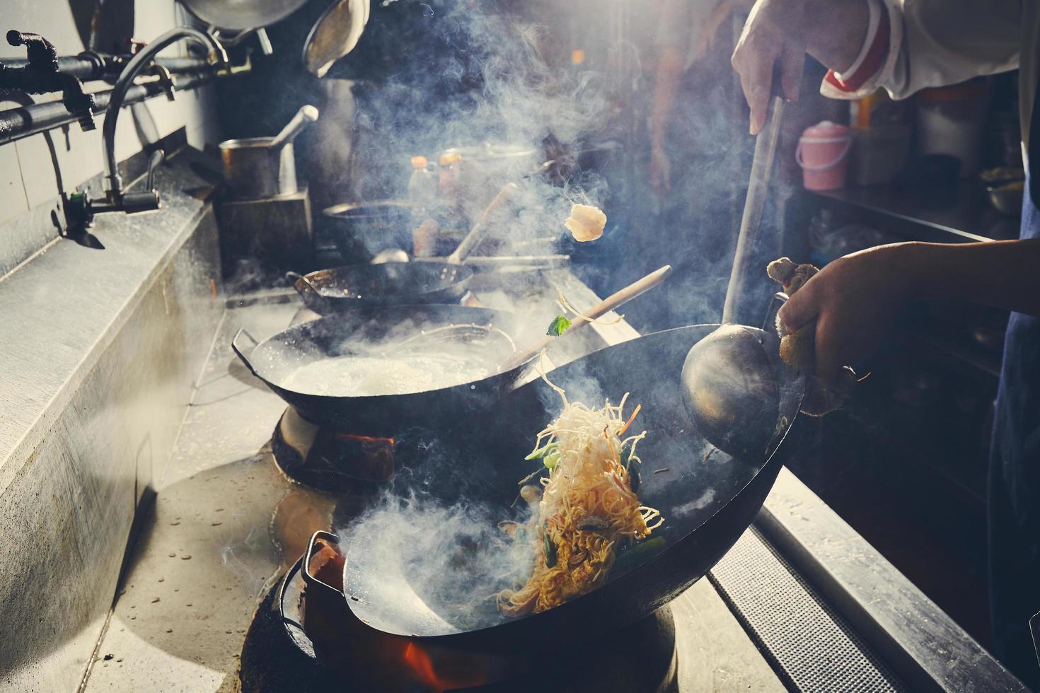 faire sauter sur la cuisinière photo