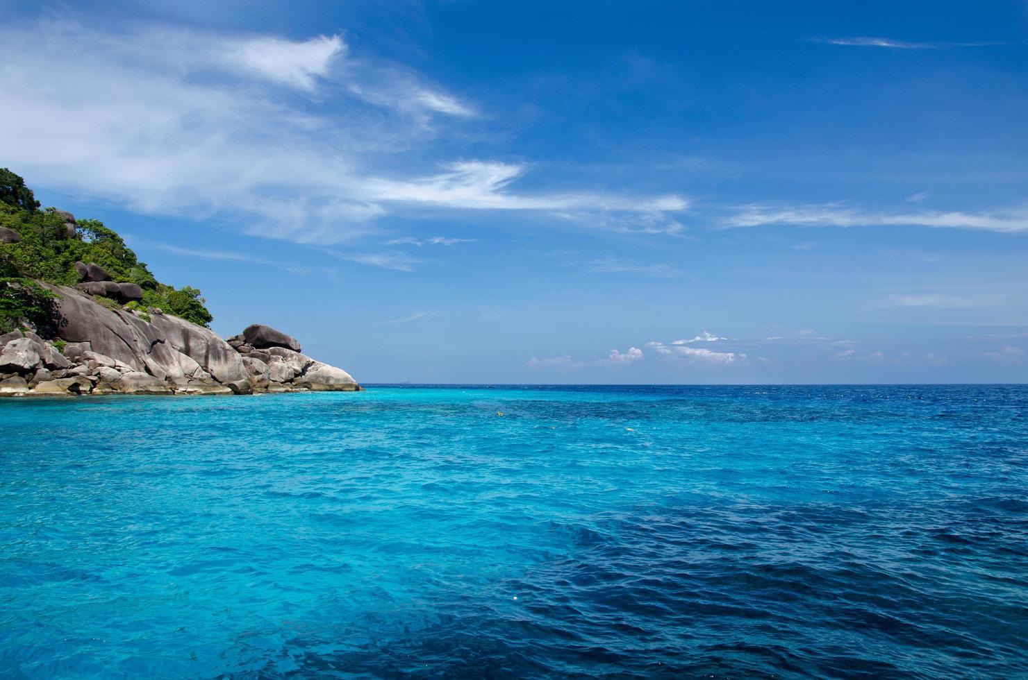 Îles Similan en Thaïlande, Asie photo