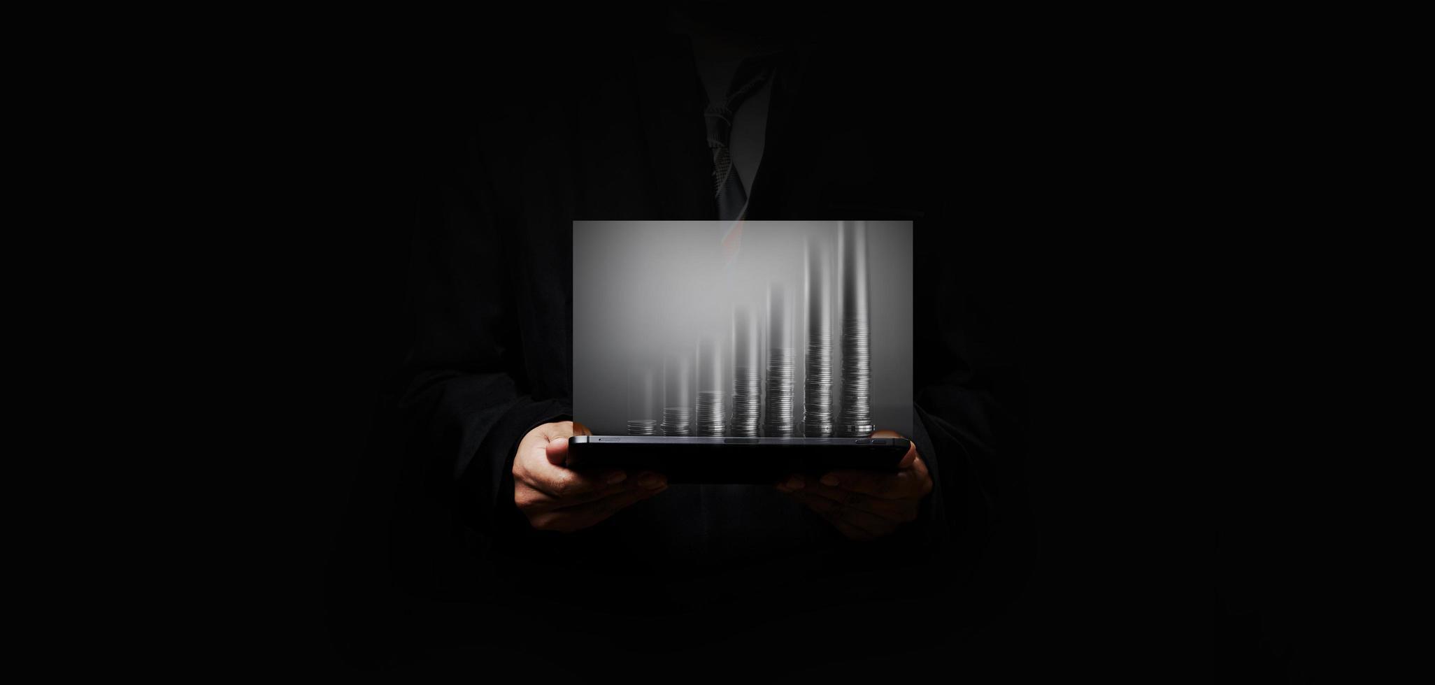 tableau financier de l'entreprise photo
