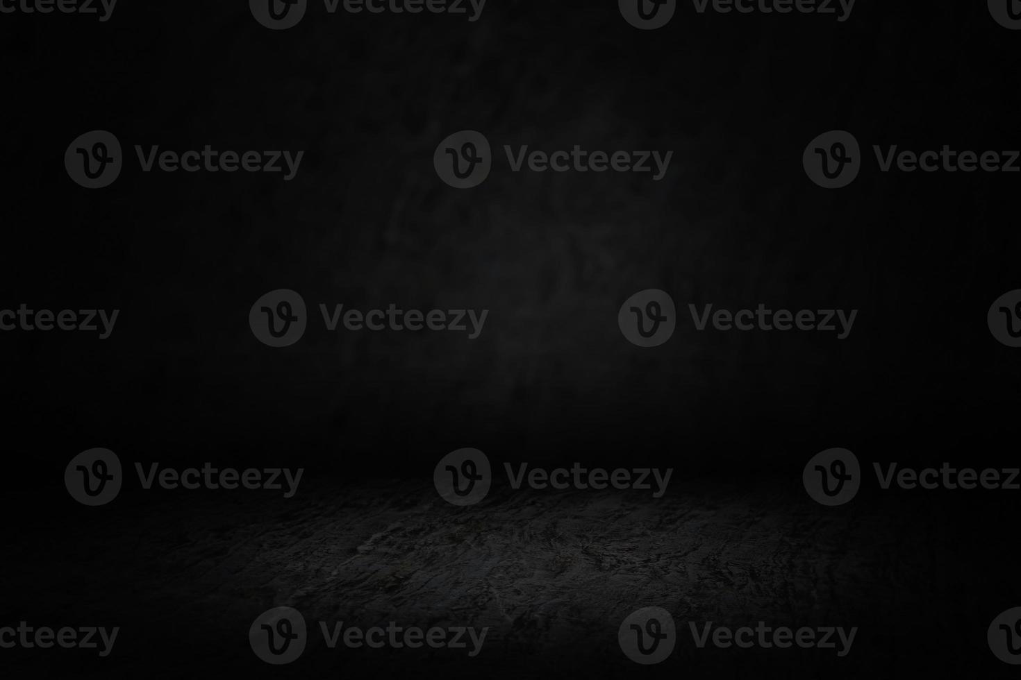 pièce sombre avec effet de projecteur doux photo