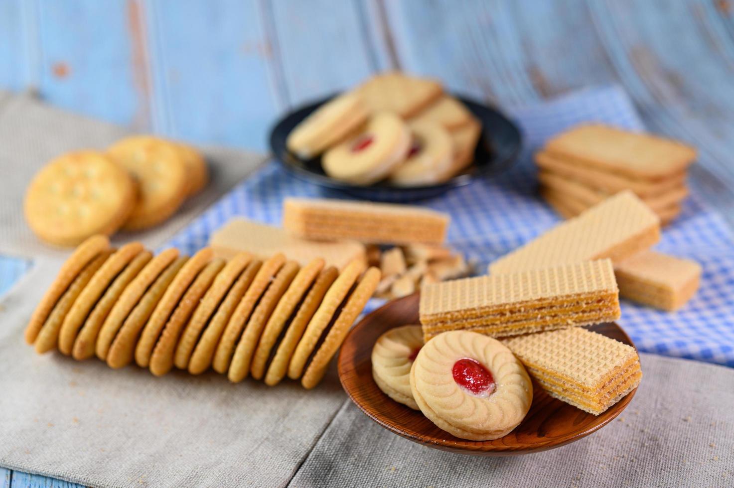 biscuits et craquelins photo