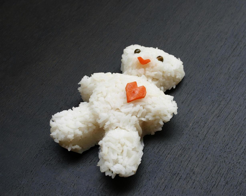 ours en riz photo