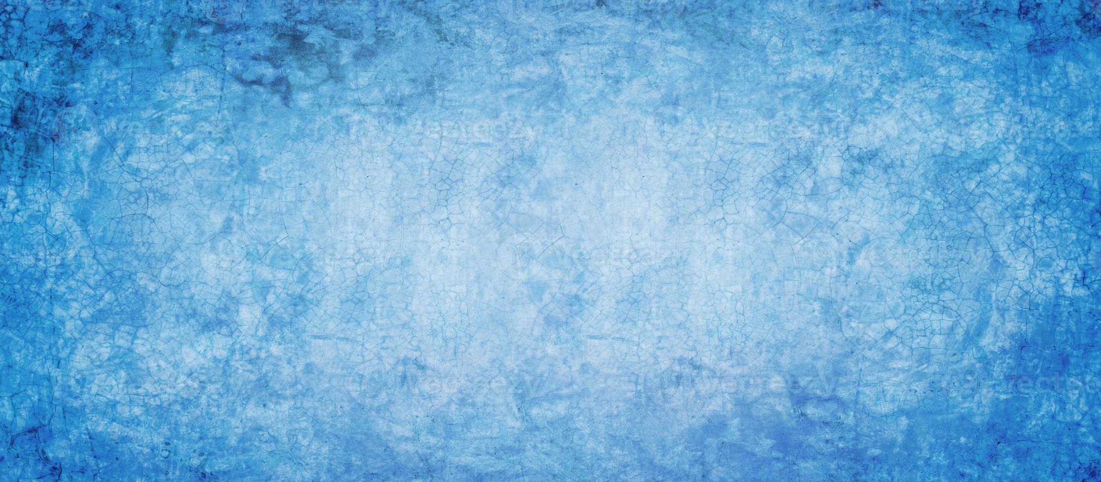 ciment bleu foncé et texture grunge photo