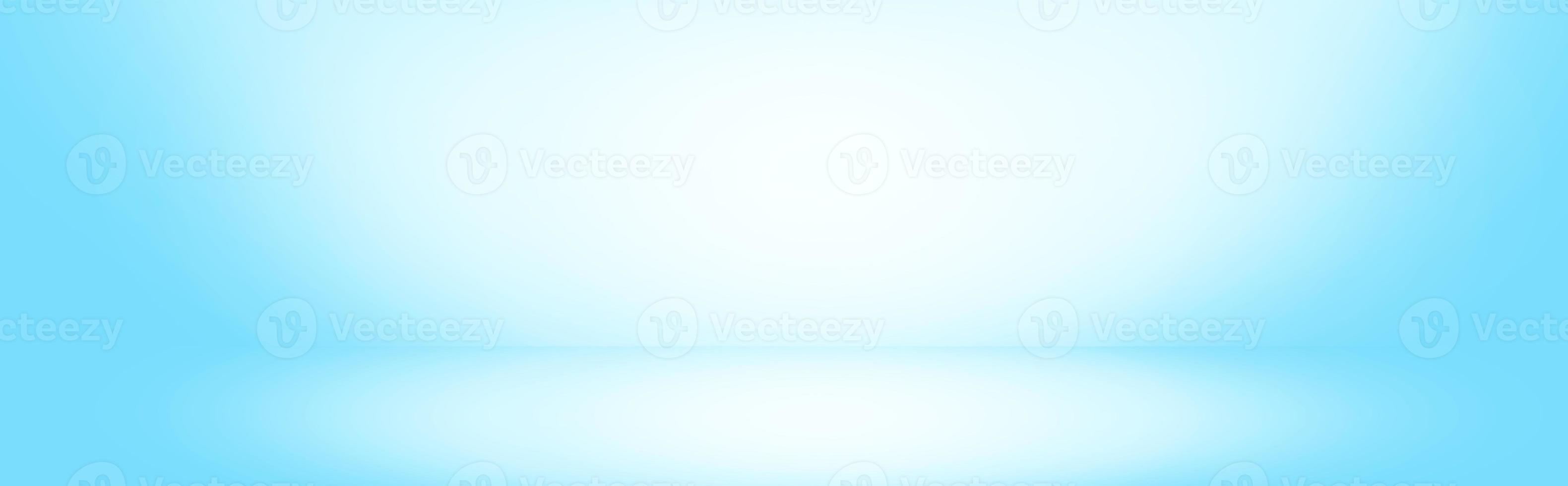 mur dégradé bleu doux photo