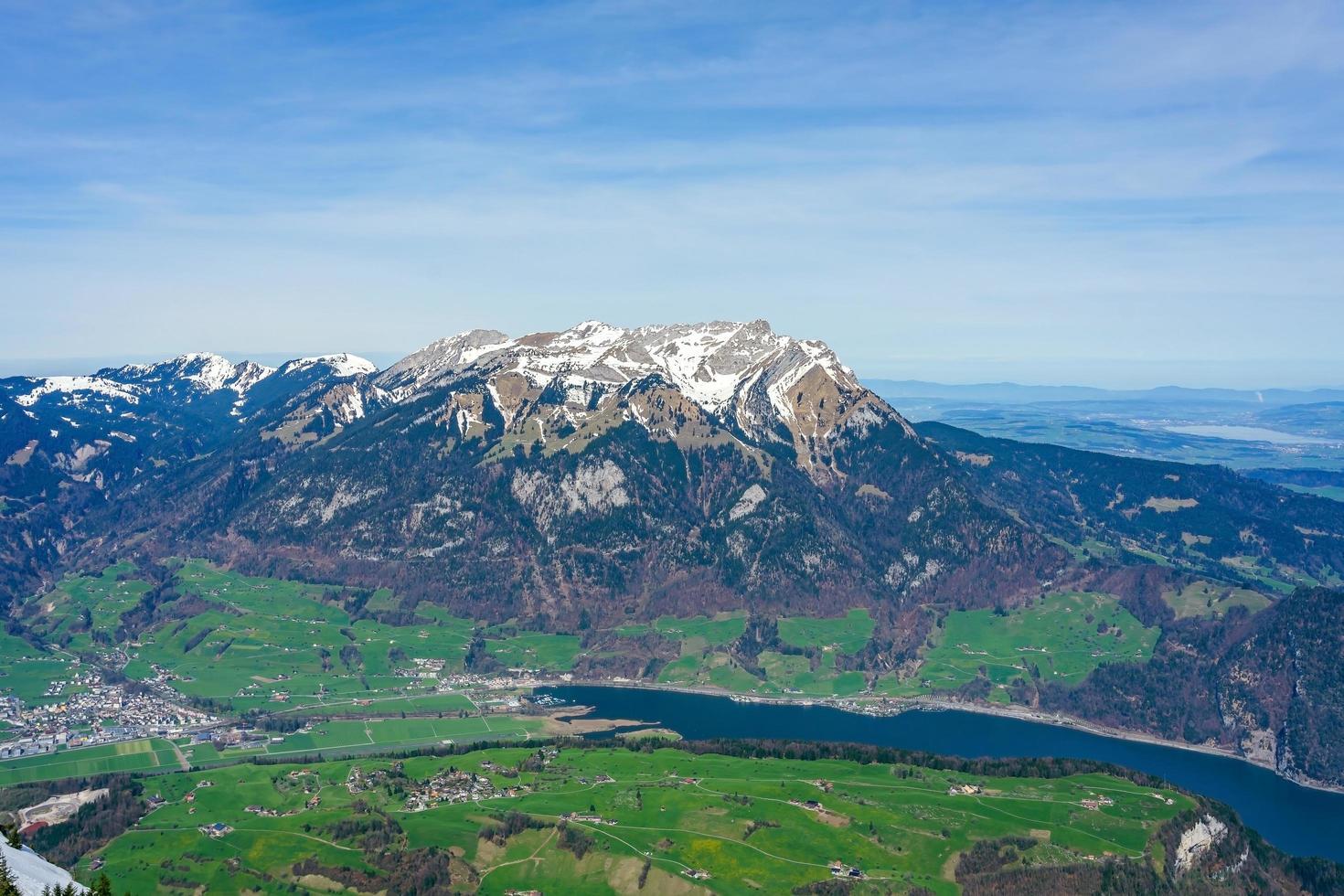 mt. pilatus vu du mt. stanserhorn, suisse photo