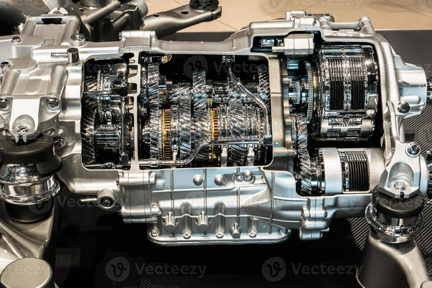 vue d'un moteur photo