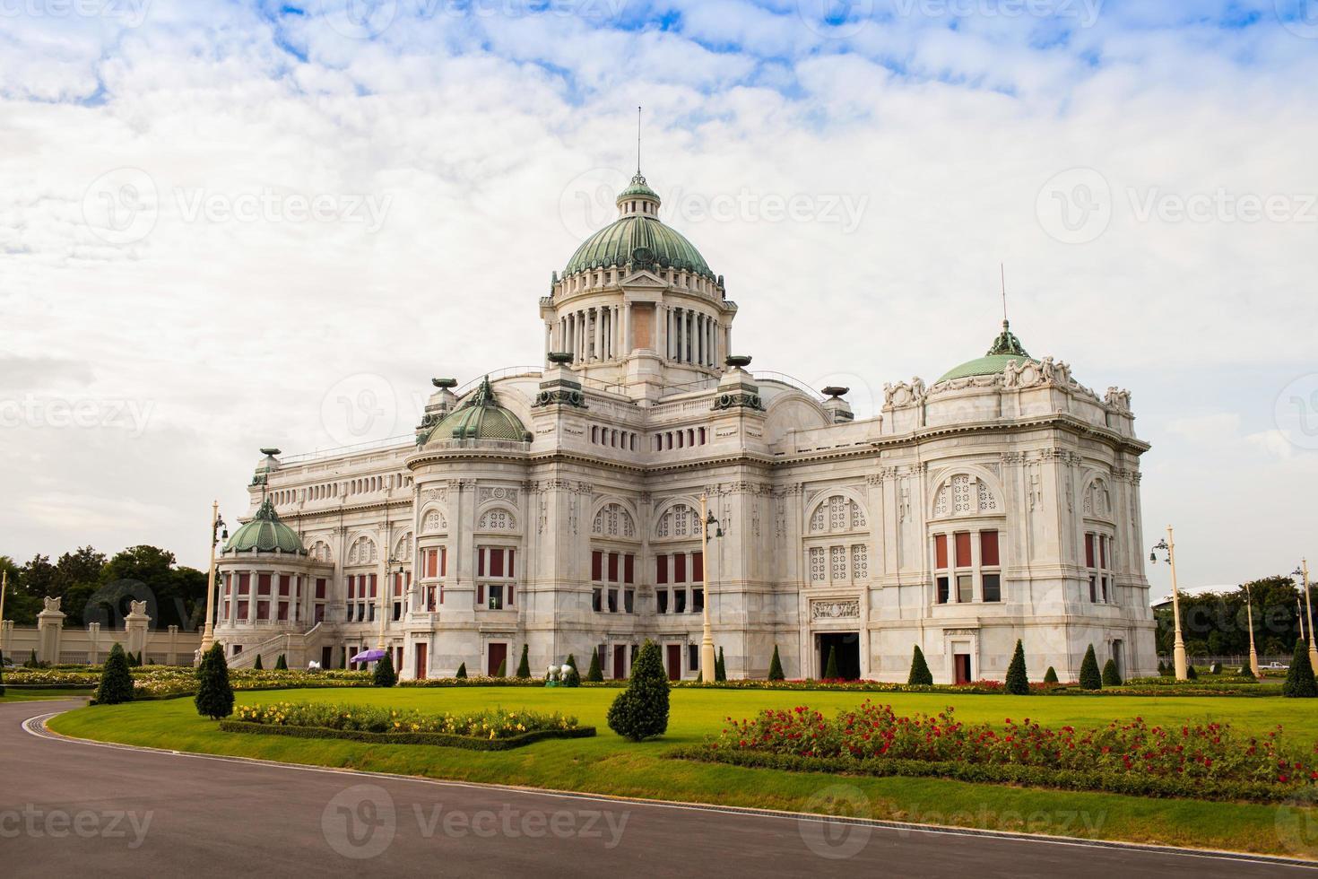 Bangkok, Thaïlande, 2020 - Salle du trône Ananta Samakhom pendant la journée photo