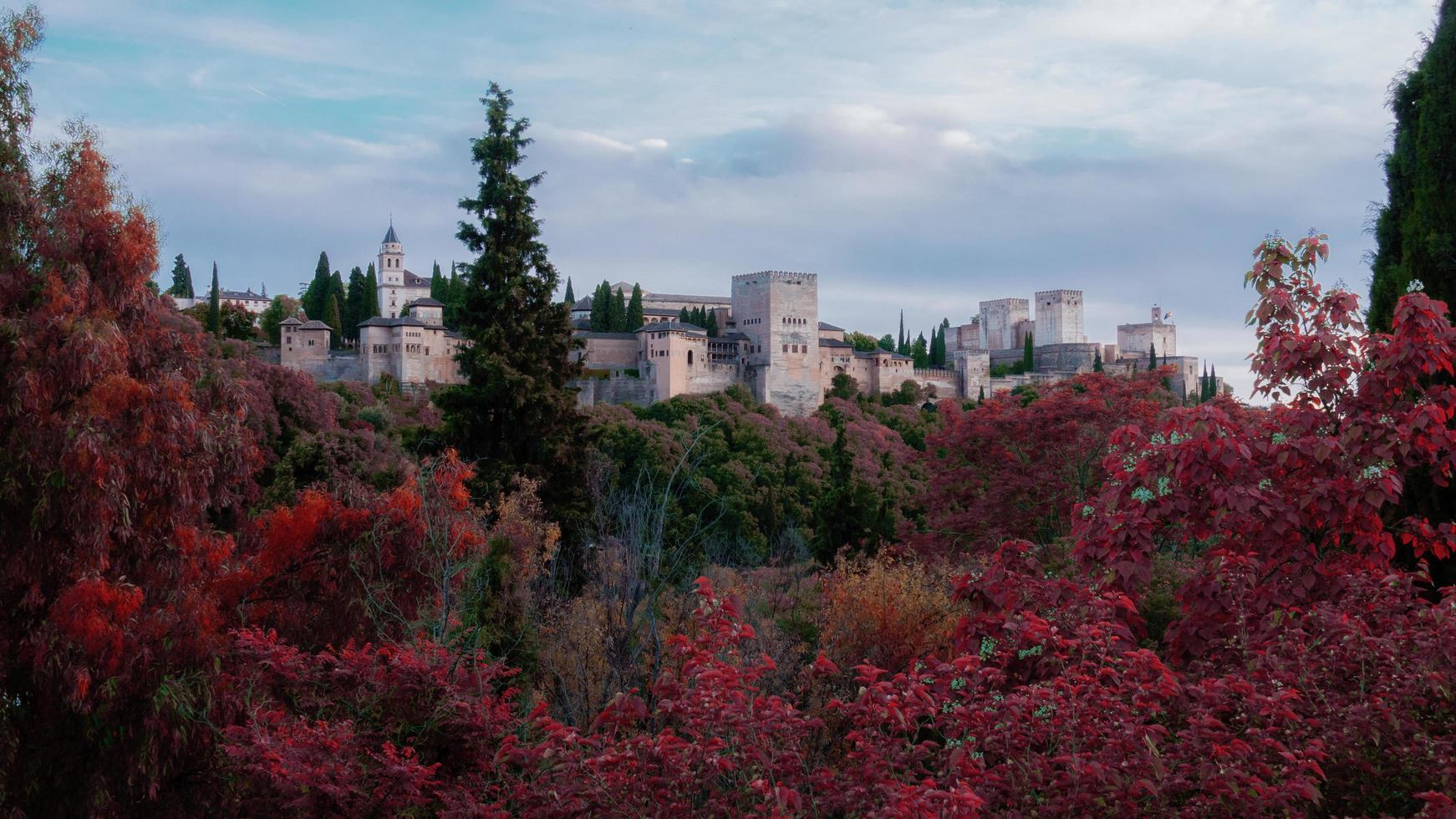 Palais de l'Alhambra à Grenade, Espagne photo