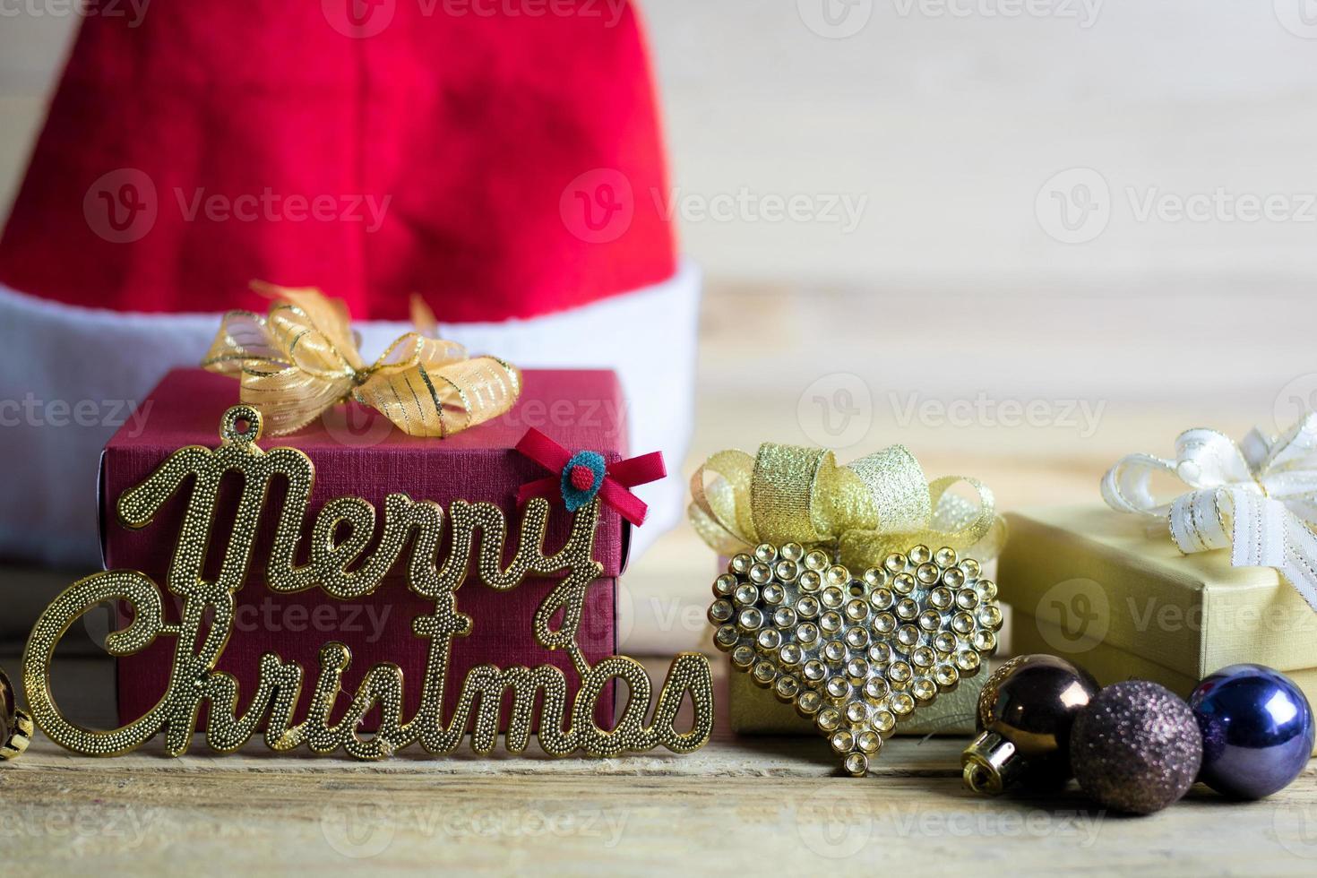 décorations et ornements de Noël photo