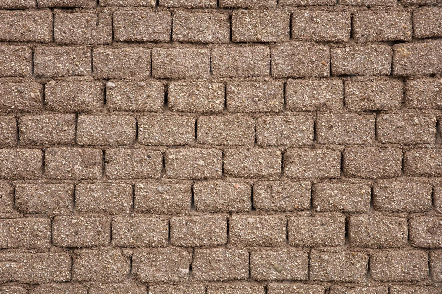détail de l'ancien mur de briques photo
