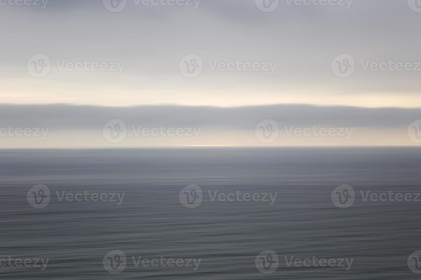horizon océan calme photo