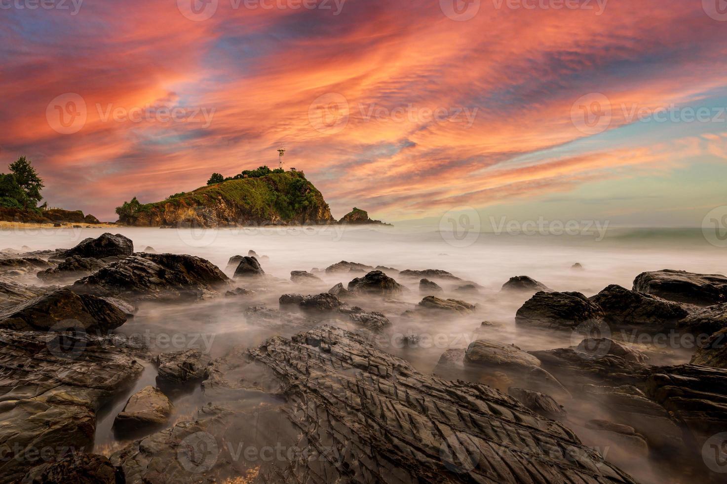 Phare de l'île de Lanta, Krabi, Thaïlande photo