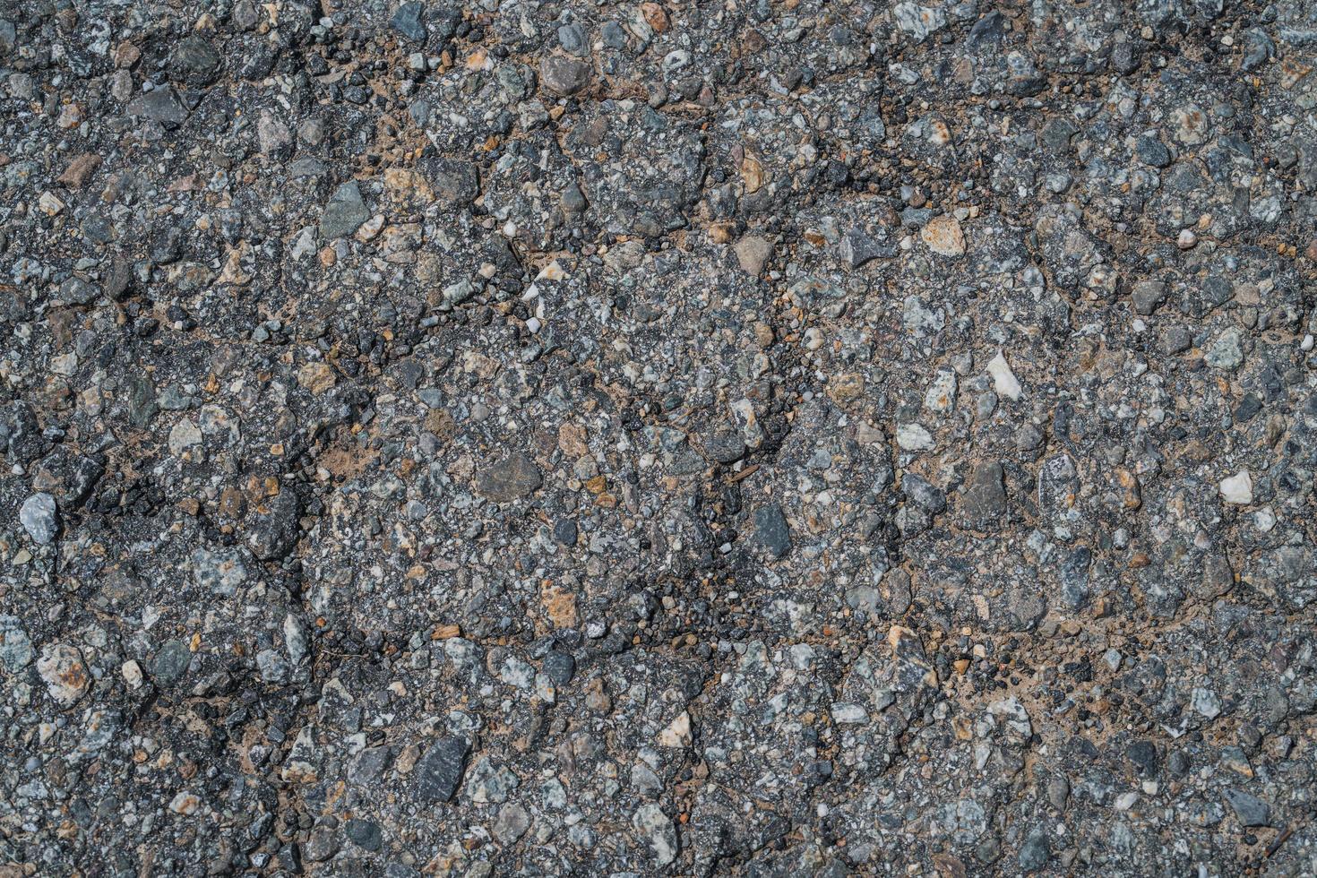 Texture d'asphalte de la vieille route photo