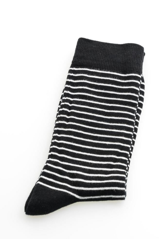 chaussettes sur fond blanc photo
