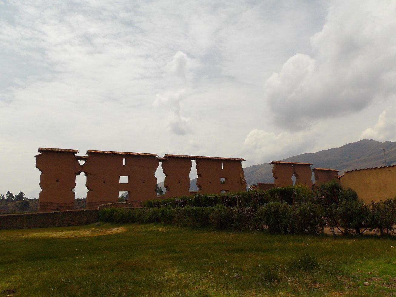 ruines antiques au pérou éloigné photo