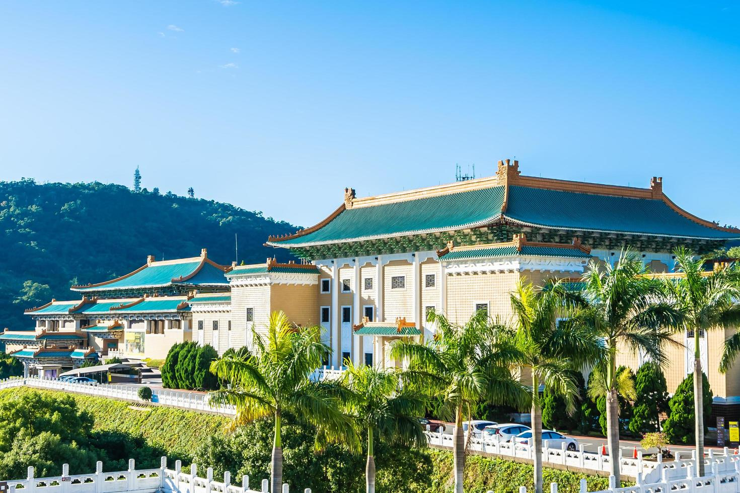 Musée du palais national de Taipei dans la ville de Taipei, Taiwan photo