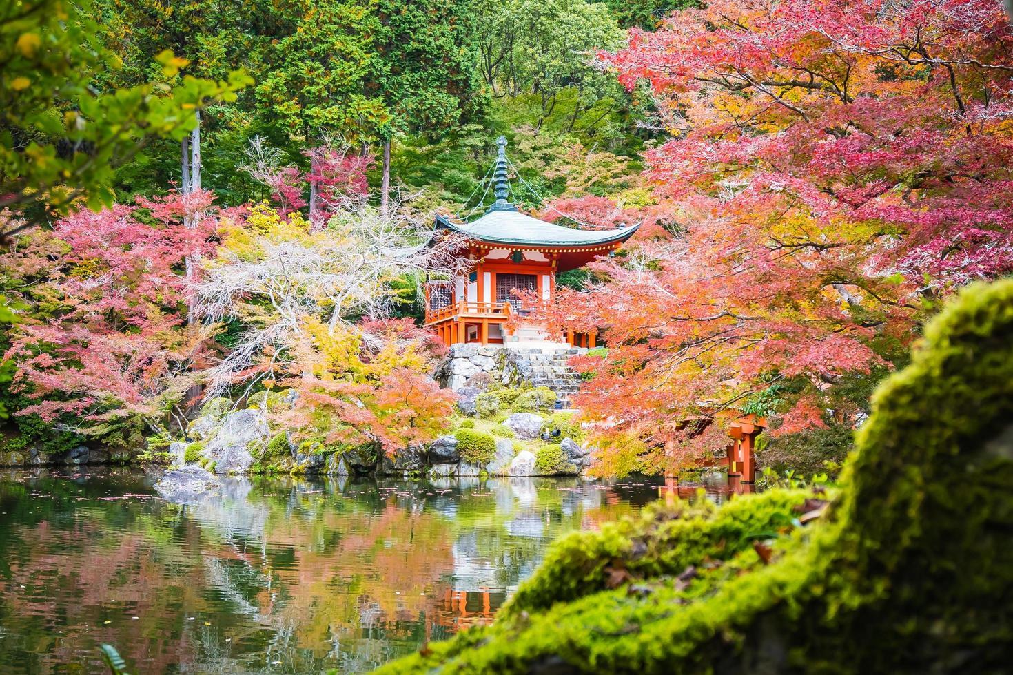 Temple Daigoji à Kyoto, Japon photo