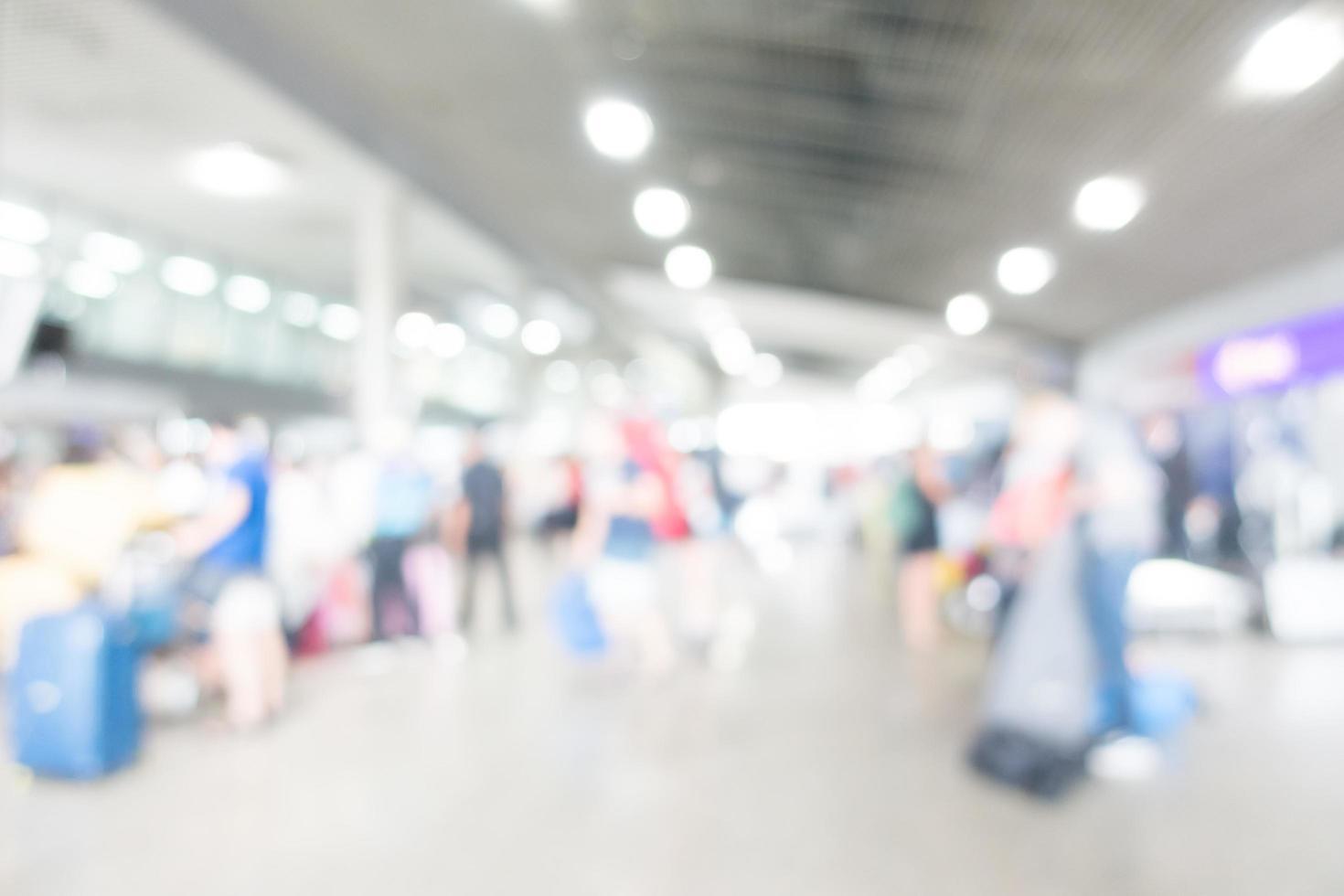 fond abstrait aéroport flou photo