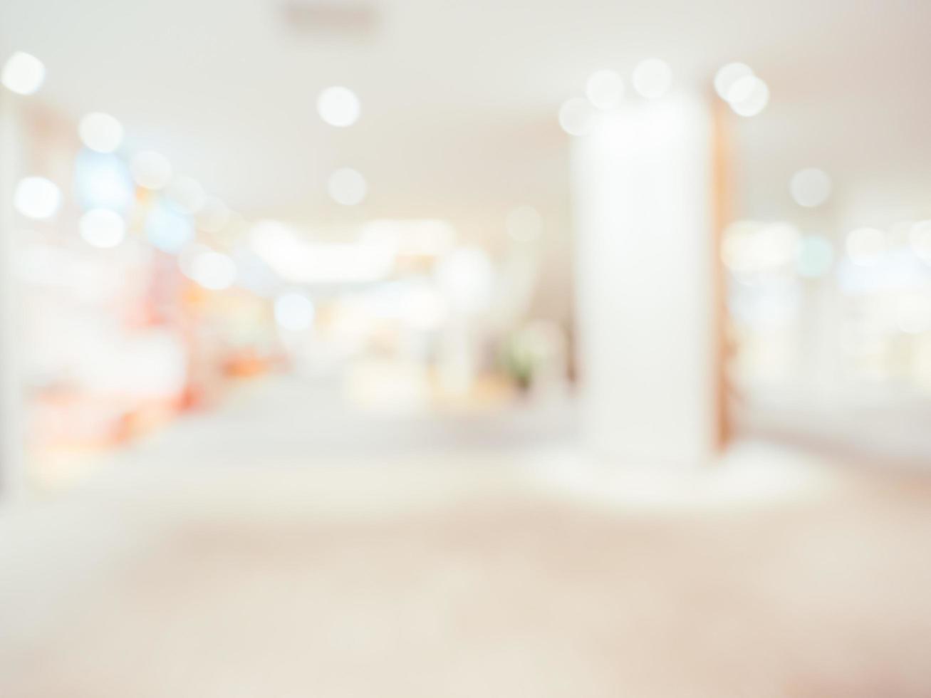 fond de centre commercial abstrait défocalisé photo