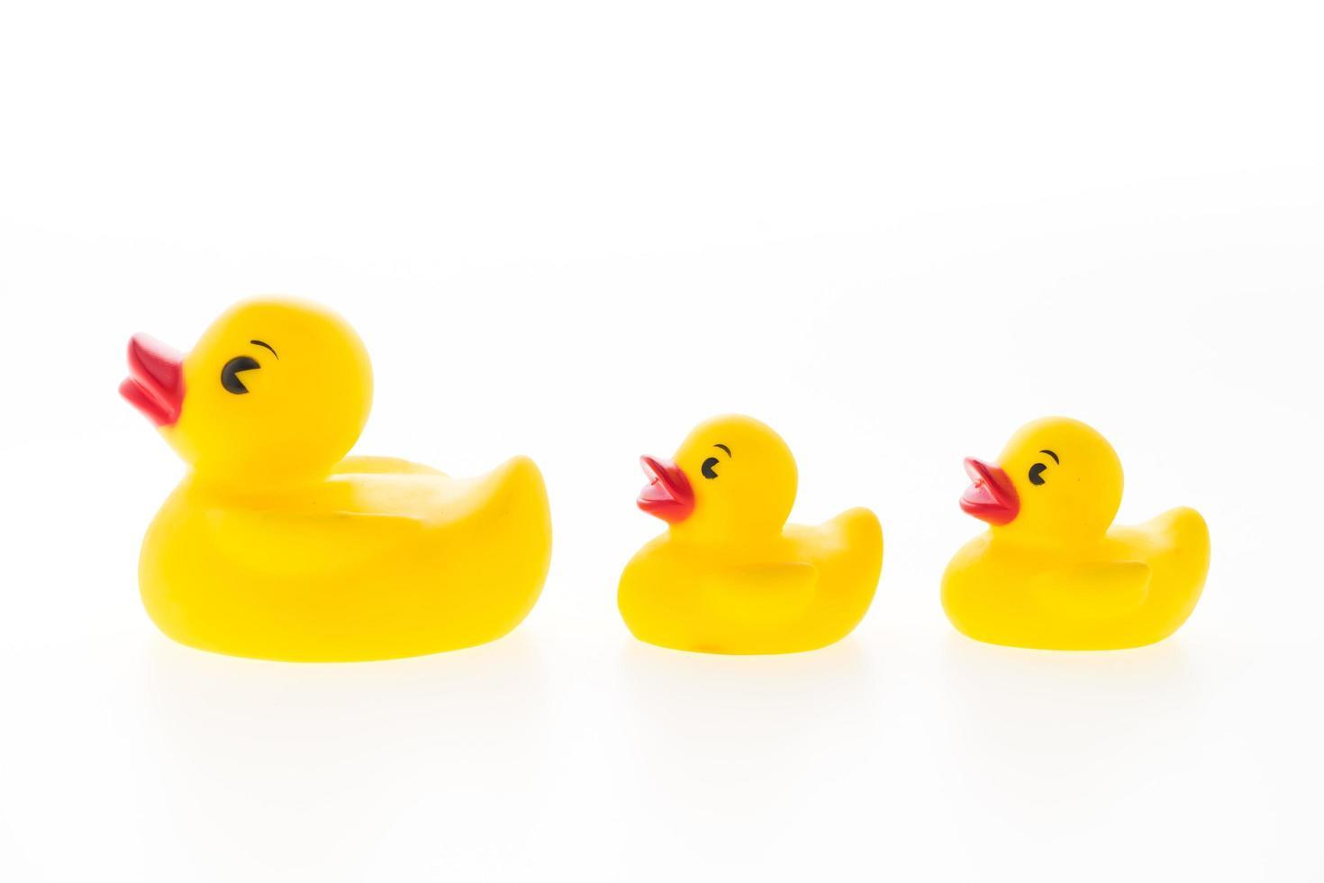jouets de canard en caoutchouc jaune photo