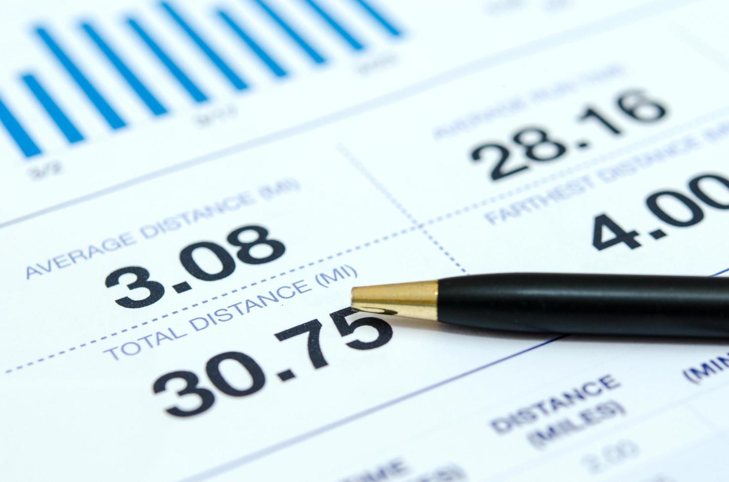 documents de comptabilité d'entreprise et stylo photo