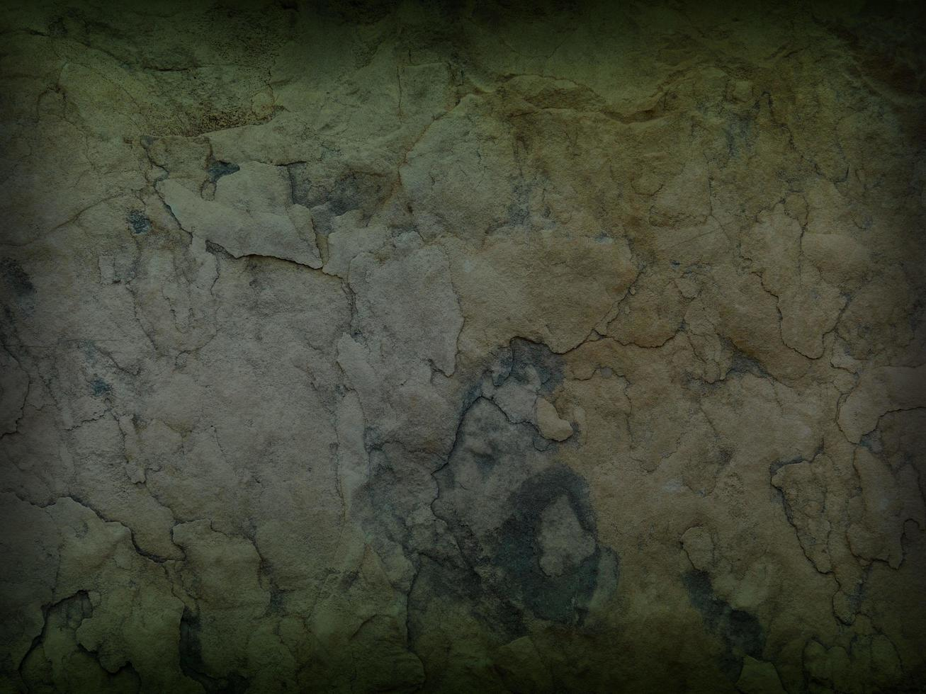 Panneau de marbre vert avec cadre d'ombre de vignette pour le fond ou la texture photo