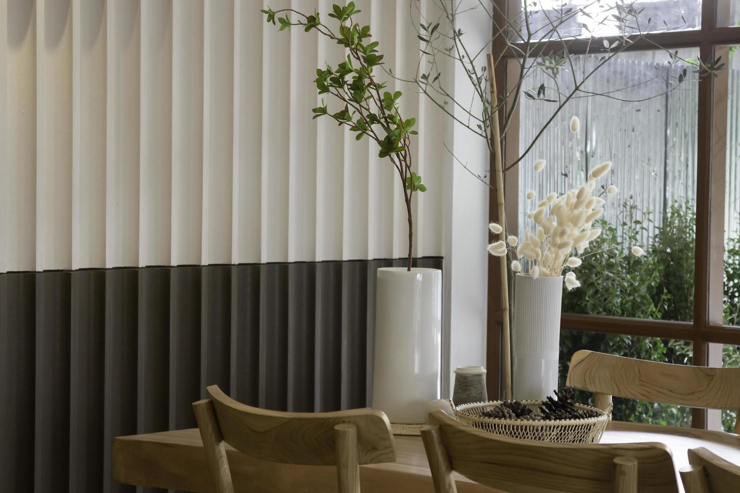 intérieur de café de style confortable photo