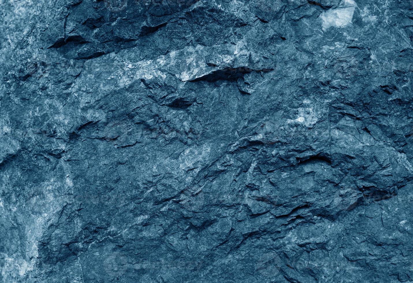 fond de texture de ciment bleu foncé photo