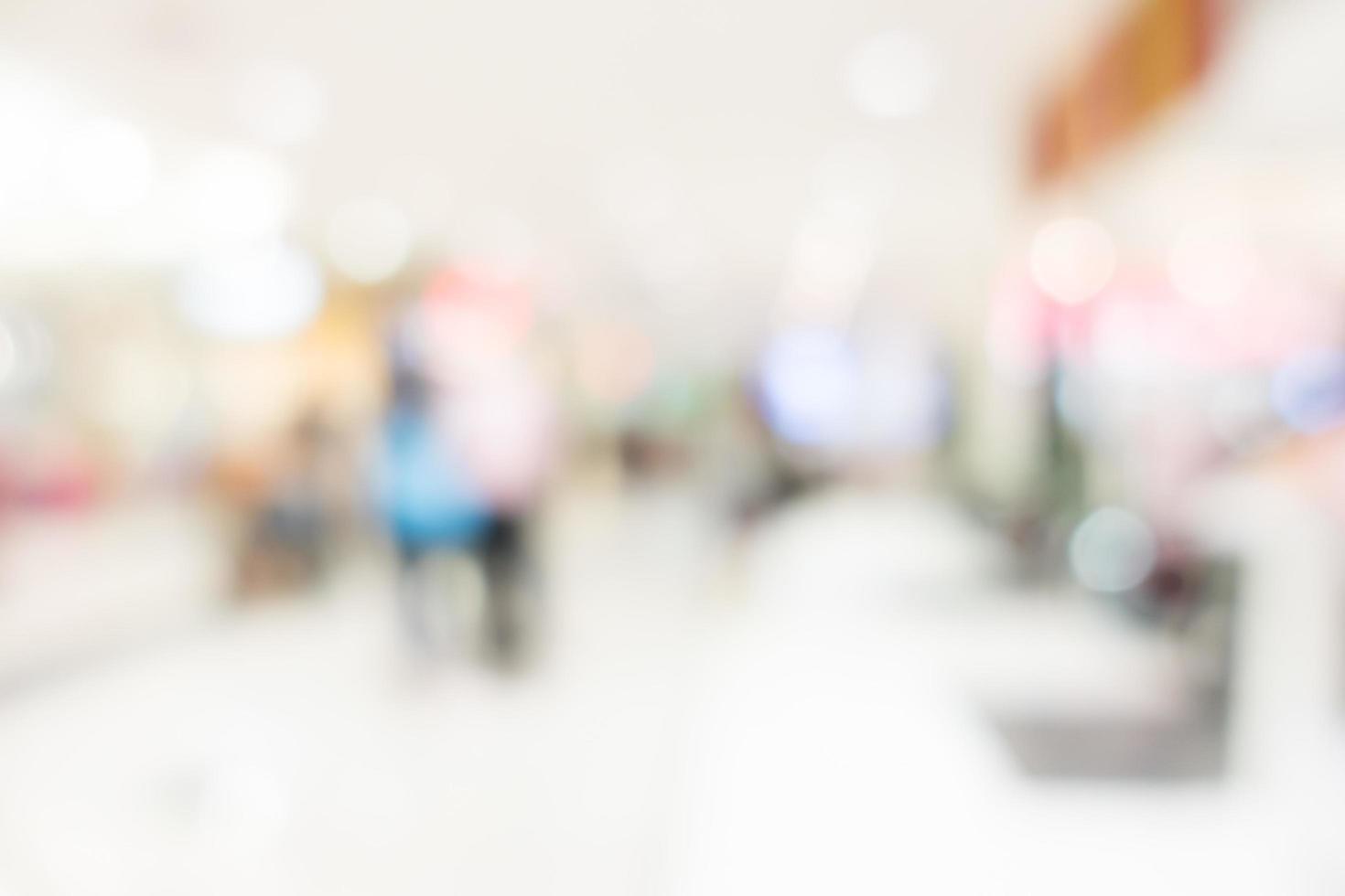 brouiller l'intérieur de l'hôpital et de la clinique photo