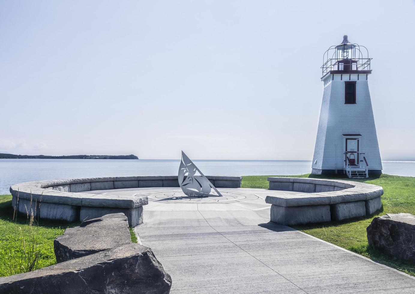 Nouveau-Brunswick, Canada 2018- un cadran solaire en fonction photo