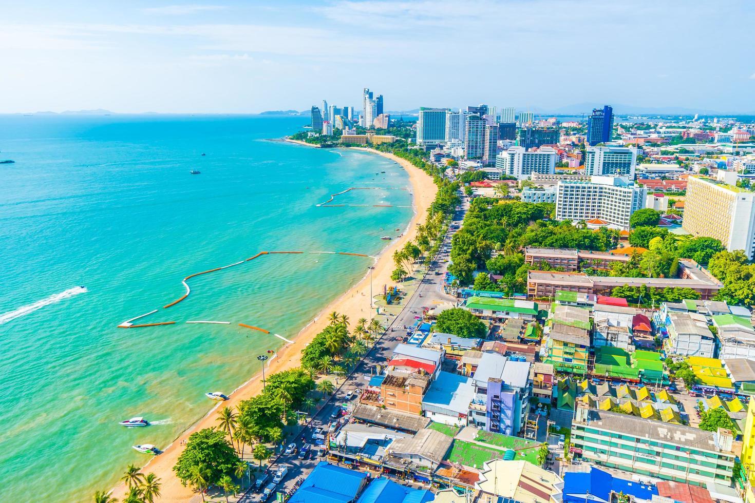 ville et baie de pattaya photo