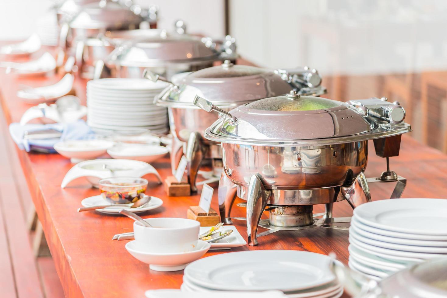 restauration buffet photo