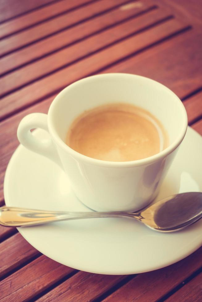 tasse à café blanche photo
