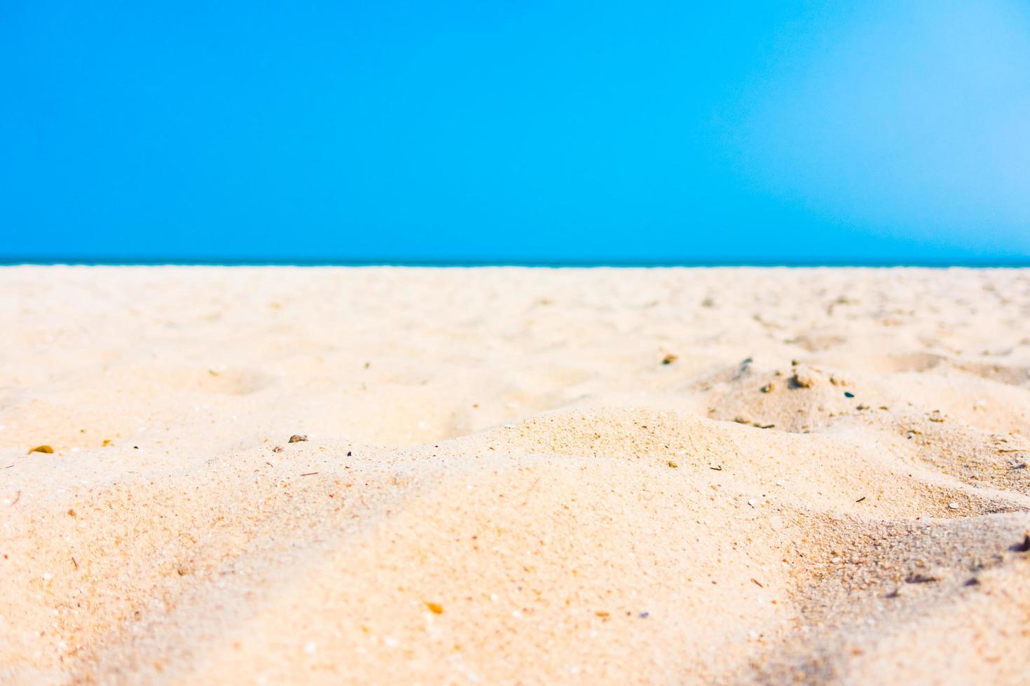 sable sur la plage photo