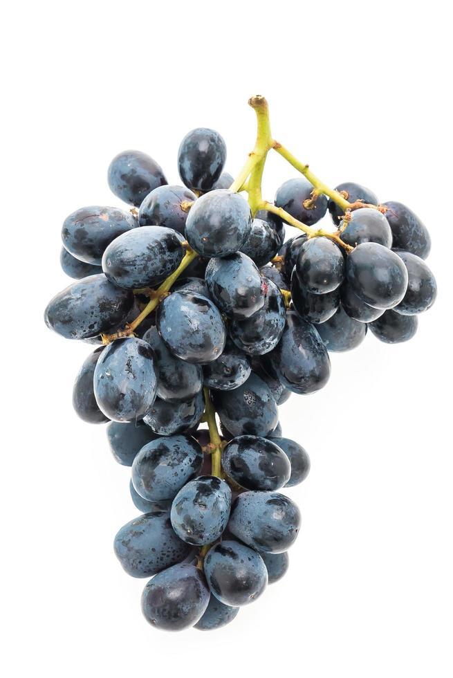 fruits de raisin isolé sur fond blanc photo