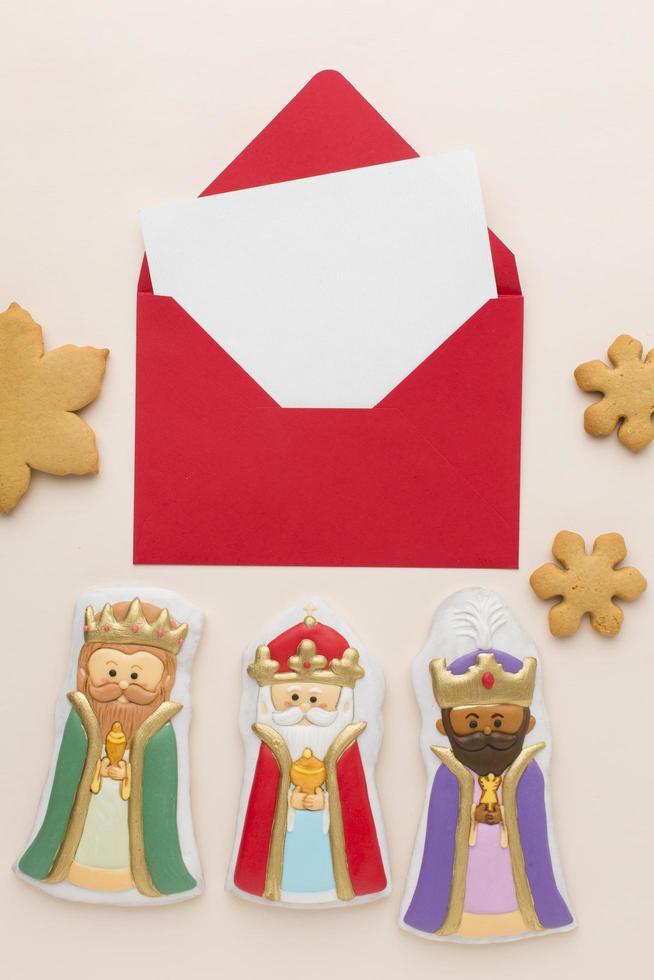 figurines comestibles de biscuit de royauté photo